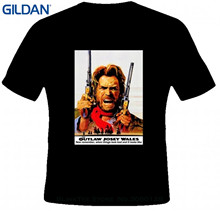 GILDAN Summer 2017 100% Cotton Alstyle Men's Outlaw Josey Wales Eastwood Quotes Western Cowboy Movie T-shirt