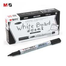3pc colored erasable mini whiteboard markers for school stationery office supplies quality brand white board sharpie marker pen(China)