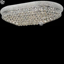 gold Ceiling Lights contemporary luxury hotel lobby lights minimalist bedroom lamp crystal lamp light 100cm W x 45cm L x 30cm H(China)