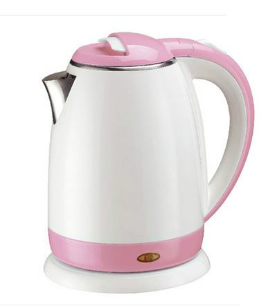 Electric kettle Quick boiling water kettles home electric 304 stainless steel genuine Overheat Protection<br>