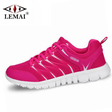 2017 New Arrival Women Running Shoes Spring Autumn Men Breathable Sneakers Lady Lovers Sport Trainer Athletic Zapatillas QX1612