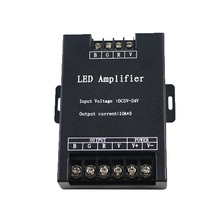 10A*3 Led RGB Amplifier Controller input 5-24V 30A Signal Repeater 360W for 3528 5630 5050 RGB Led strip led module,led display