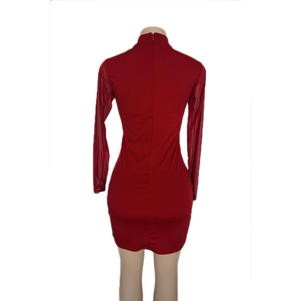 Swaggy HTB1Y8_QXQfb_uJkHFJHq6z4vFXa0 Langärmliges Slim Kleid