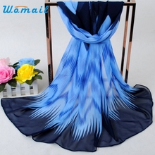 Womail Good Deal Good Deal  New Fashion Women Bohemia Chiffon Soft Scarf Long Section Of Scarves Gift 1PC