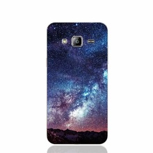 23515 Amazing Milkyway Space Mountain Red cover phone case for Samsung Galaxy J1 J2 J3 J5 J7 MINI ACE 2016 2015 ON5 ON7