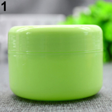 NEW GOODS 5 Pcs/Set Empty Makeup Jar Pot Travel Face Cream/Lotion/Cosmetic Containers(China)