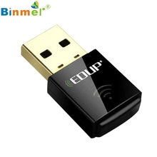 Beautiful Gift New Mini Wireless 300Mbps USB Adapter WiFi 802.11n 300M Network Lan Card Wholesale price_KXL0728(China)