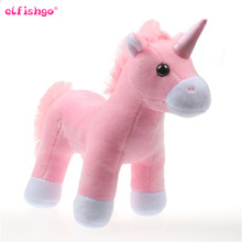 Lovely Unicorn Soft Plush Doll Kids Toys Unicorn Soft Stuffed Animal Baby Dolls 20cm(China)