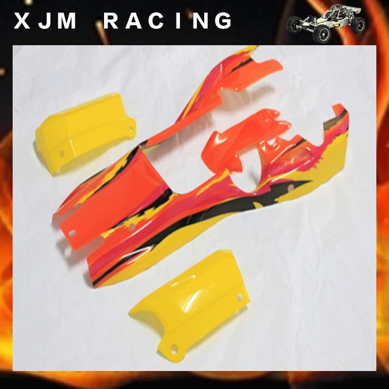1/5 rc car racing parts, Body car shell for 1/5 scale kingmotor baja 5b<br>