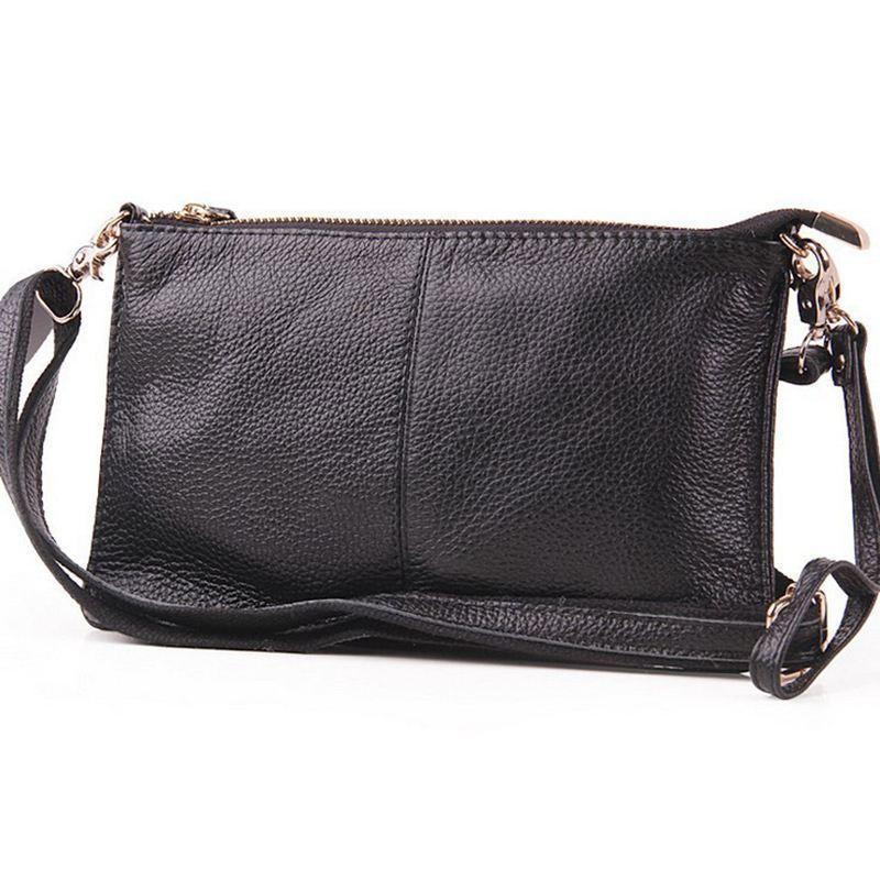 Fashion Designer Genuine Leather Envelope bag day Clutch  Handbag Women messenger bag SD4-558<br><br>Aliexpress