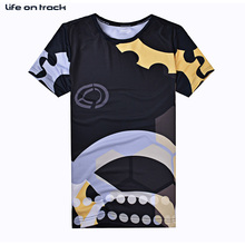 Men's Cycling Jersey Balls Sports Clothes Short Sleeves Printing Anti-Pilling Basketball T-shirts Best Friend Gift Wholesale