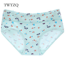Buy TWTZQ Hot Sale Cotton Lingerie Underwear Women Brand Sexy Mushroom Horse Heart Panties Breathable Tanga Cute Calcinha A3NK088