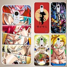 Dragon Ball DragonBall z goku Super man Hard White Cell Phone Case Cover for Xiaomi Mi Redmi Note 4 Pro 4A 4C 4X 5X 5 6(China)