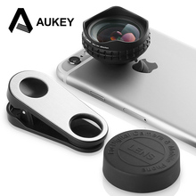 AUKEY Optic Pro Lens 18MM HD Wide Angle Cell Phone Camera Lens Kit 2X More Landscape for iPhone X 8 7 Samsung HTC Xiaomi & More(China)
