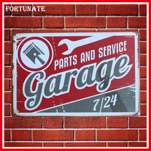 Hot Parts And Service Car Vintage Metal Signs Home Decor Vintage Tin Signs Pub Vintage Decorative Plates Metal Wall Art Plaques