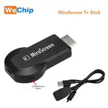 Hot MiraScreen OTA Tv Stick Wireless Dongle Anycast Wi-Fi Display Airplay HDMI Miracast Receiver Airmirroring Google Chromecast(China)
