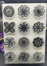 CLEAR STAMPS flowers DIY Scrapbook Card album paper craft silicon rubber roller transparent stamp 18x15cmCM(China)