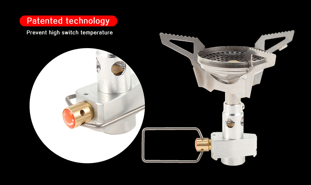 APG STO0045 Outdoor Anti-scald Camping Stove Portable Cooking Equipment