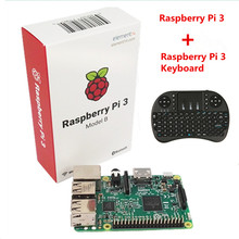 Raspberry Pi 3 Model B With Wifi & Bluetooth +i8 Mini 2.4G Wireless Mini Keyboard For Orange Pi PC Android TV Raspberry Pi 3(China)