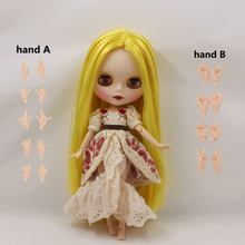 Fortune Days  Nude Blyth  doll  No.BL0849 Yellow hair  JOINT body Frosted skin Factory Blyth