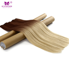 "Neverland Clip In Hair Extensions Synthetic Straight Hair 60cm 24"" One Piece 5Clips Hair Styling Heat Resistant Women Hairpiece(China)"