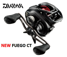 2017 New model DAIWA FUEGO CT Low profile baitcast fishing reel Magforce-Z cast control