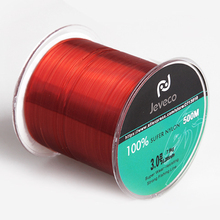 JEVECO Nylon Fishing Line 500m Extreme Strong Monofilament Fishing Line for carp fishing 8-25lb(China)