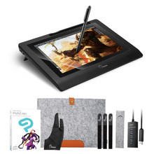 "Parblo Coast10 10.1"" Graphic Monitor With Battery-Free Pen +CLIP STUDIO PAINT PRO (Manga Studio) +4ports USB3.0 Hub+ Glove(China)"