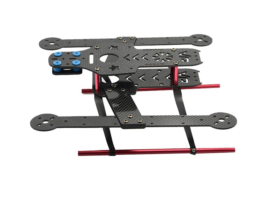F14088/89 FCM280 Mini 280 mm 4-axle Quadcopter Frame Kit Unassembled DIY Personality FPV RC Drone UAV - Carbon / Glass Fiber +FS<br><br>Aliexpress