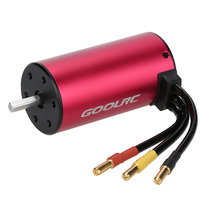 GOOLRC RC Cars Motor Brushless S3670 2850KV 4 Poles Sensorless Brushless Motor for 1/8 1/10 RC Car Truck Parts Accessories(China)