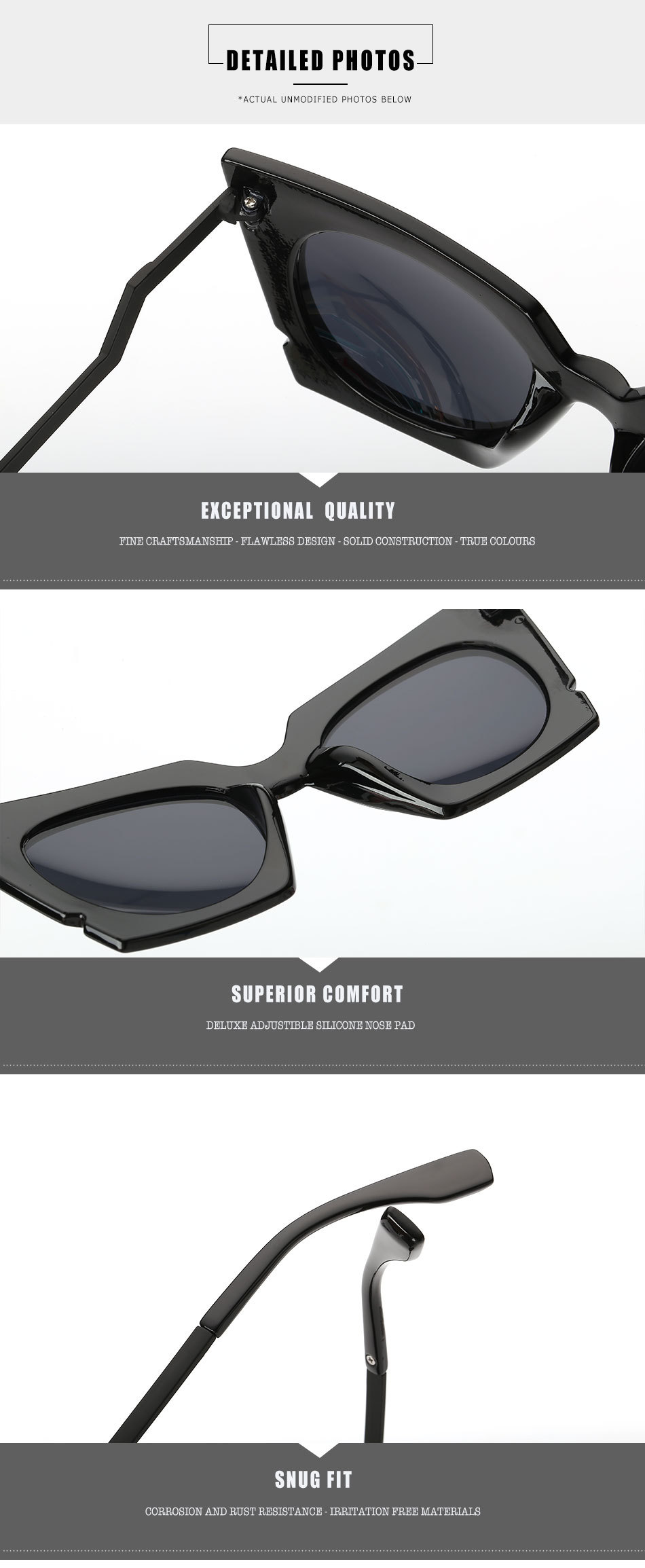 2017 new personality Cat Eye Sunglasses, A65 fashion ladies, men's and women's universal glasses