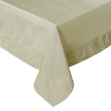 "Free Shipping 60""*84"" 3D Embossed Patchwork Shiny Glitter Silvery/Gold Table cloth Hotel Line P4516"