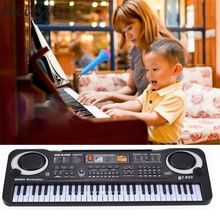 HIINST Modern 61 Keys Digital Music Electronic Keyboard Key Board Gift Electric Piano Toys for Children kids Baby H26