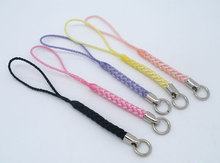 20 PCs Mixed Mobile Cell Phone KeyChain Lanyard Cord 80mm