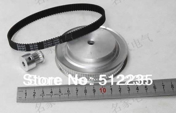 Timing belt pulleys/timing belt,timing pulley, the suite of Synchronous belt 3M(6:1)<br>