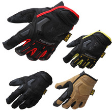 Hotting Men Tactical Glove Airsoft Shooting Outdoor Motor Bicycle Full Finger Mittens(China)