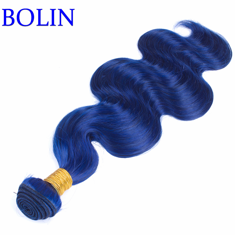 Blue Human Hair Weave wholesale Brazilian hair bundles cheap hair weave Brazilian Virgin Hair Body Wave 3bundles<br><br>Aliexpress