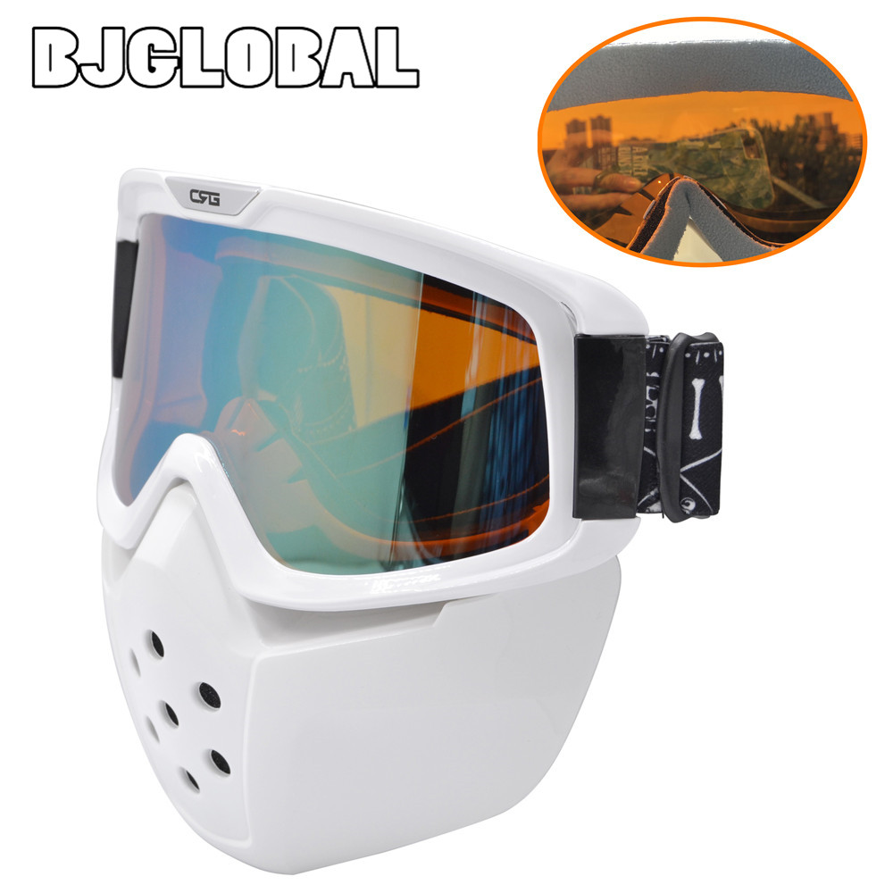BJGLOBAL Ski Skate Motorcycle Goggle Motocross Goggles Helmet Glasses Windproof off Road Moto Cross Helmets Mask Goggles