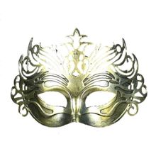 ALIM HOT Antique Roman Gladiator Venetian Carnival Halloween Party Mens Masquerade Mask Gold(China)