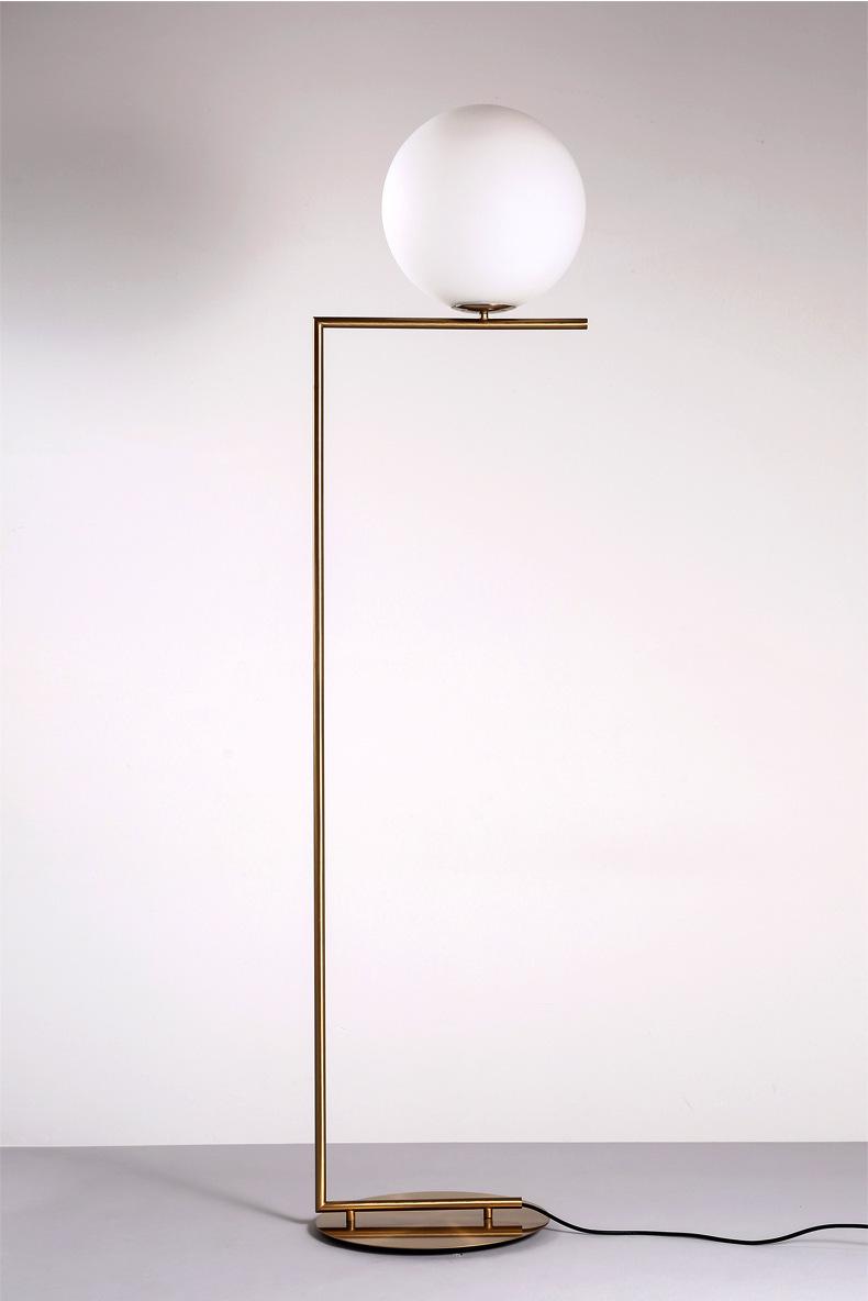 Modern LED Floor Lamp Floor Light Shade Glass Ball Standing Lamp for Bedroom Living Room Gold Designs (21)