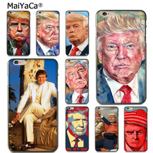 Buy MaiYaCa Donald Trump ATR Amazing landscape Phone Case Apple iPhone 8 7 6 6S Plus X 5 5S SE 5C case Cover for $1.45 in AliExpress store
