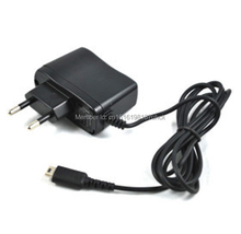 8pcs/lot Top Sale EU Plug Home Travel Wall Charger AC Power Supply Converter Adapter for Nintendo For NDSL