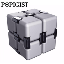 New Fashion Infinity Cube High Quality Fidget Cube Anti Stress Spiner Magic Finger spinners Hand Out Door Toy Magic Adult ADHD 2(China)