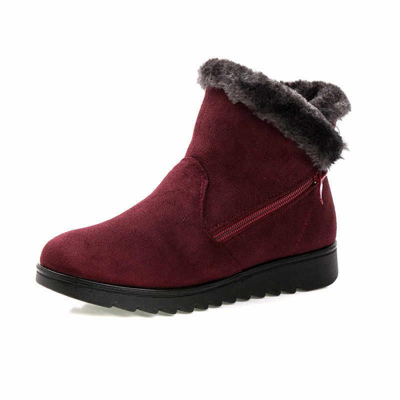 2019 女性の靴冬の雪のブーツ暖かい足首ブーツ女性のブーツ冬の