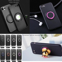 100PCS,2017 New Magnetic Hybrid TPU PC Ring Case Back Stand Car Holder Cover for iPhone 5 5S 6 6S 6 6S Plus 7 7 Plus Phone Case