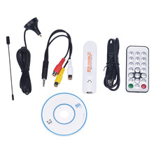 New DVB T2 TV Stick Analog usb TV Tuner Digital Satellite TV Receiver with antenna Remote TV Receiver for DVB-T2/T/C/FM/Analog(China)