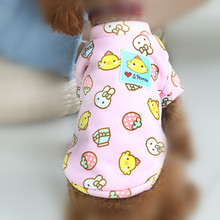 New XXS/XS/S/M/L Two-legged Sweater Dog Clothes Fairy Tale Stamps Series Roupa De Cachorro Gift For Puppy Mascotas Pet Supplies(China)