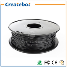 New Upgraded Createbot High Glossiness 1.75mm PETG Filament Black 1kg PETG Printing Filament(China)
