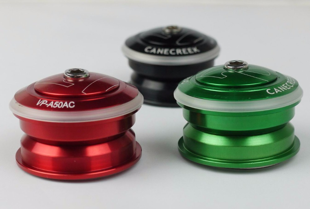 "Integrated with top cap 1-1//8/"" 34mm MTB Road Red TOKEN Headset Threadless"
