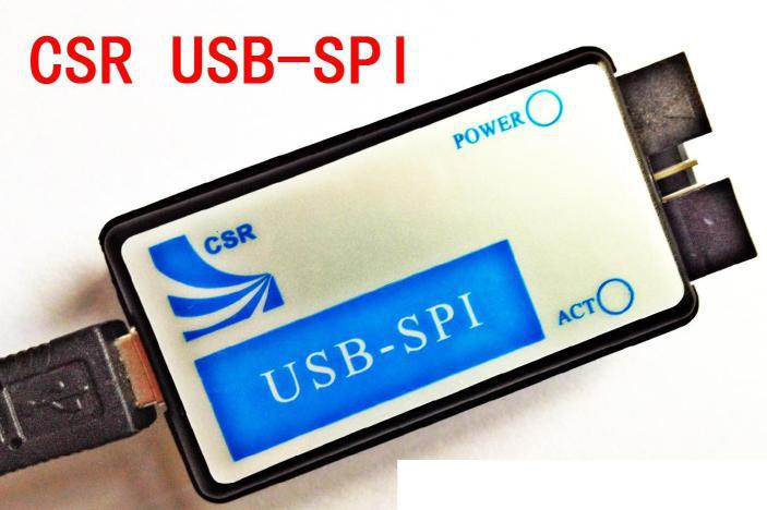 CSR Bluetooth debugger burner downloader USB to SPI USB-SPI feed production software!(China (Mainland))